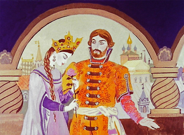 Иллюстрации к сказке пушкина жених картинки