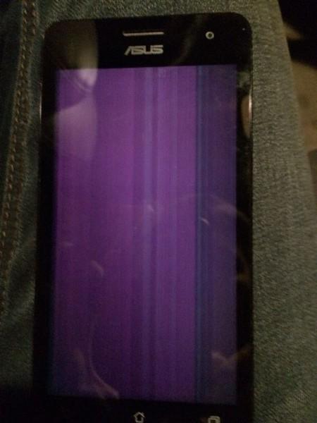 фиолетовые точки на фотографиях с телефона портрет был