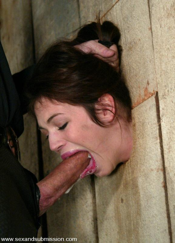 Forced to suck cock at gloryhole