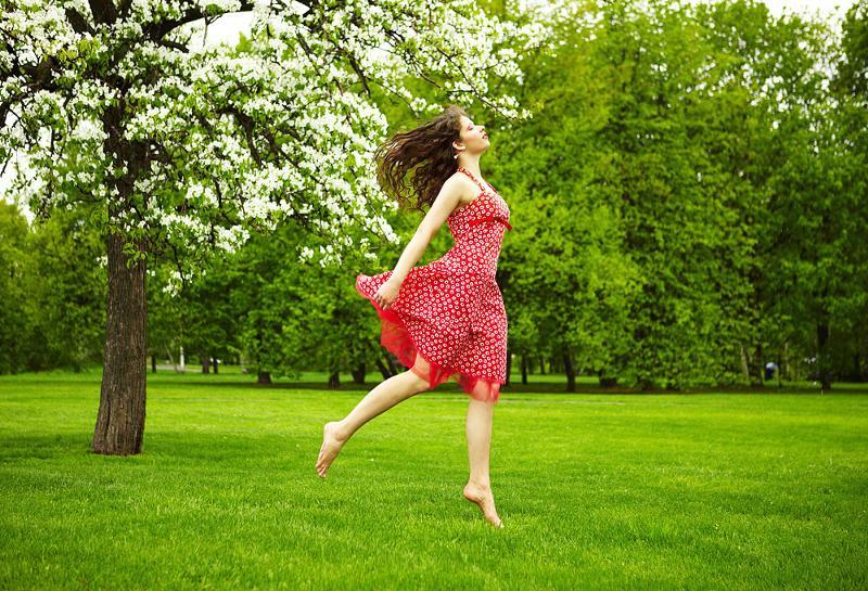 сделать фото ты бежишь по росе нее