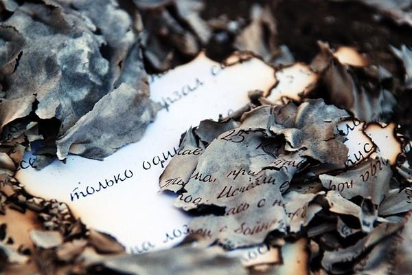 Картинки по запросу сжечь старые письма