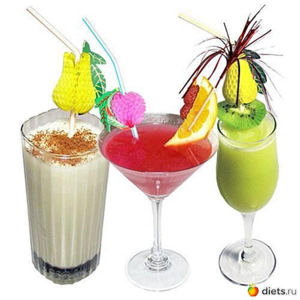Молочные коктейли на детский праздник детский праздник родители