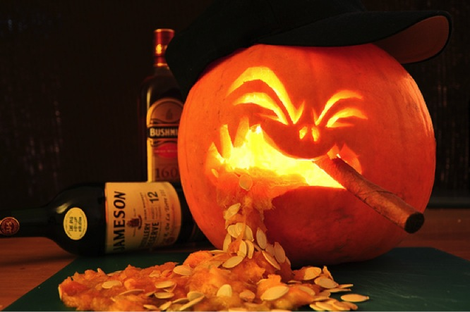 Приколы про хэллоуин картинки