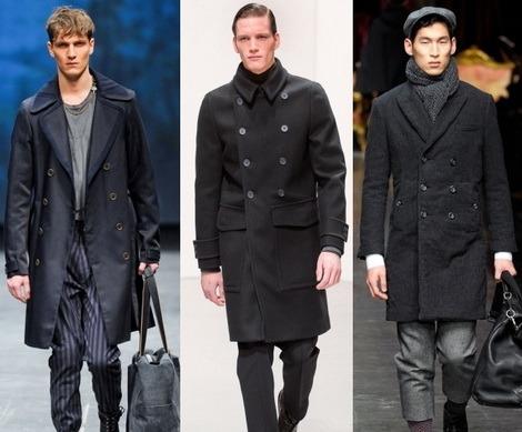 Пальто для мужчин осень зима