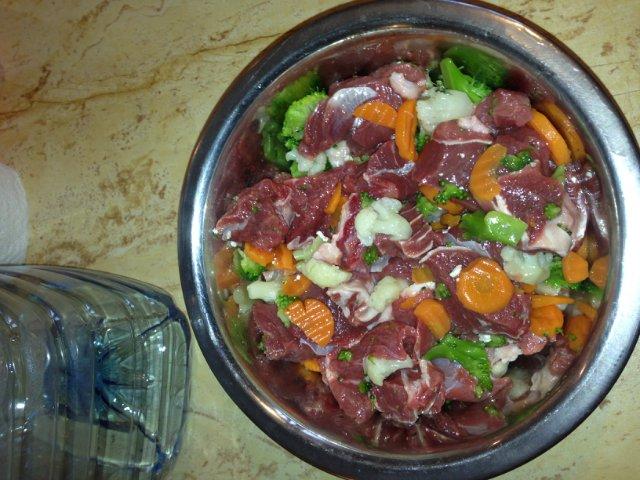 Barf питание для собак