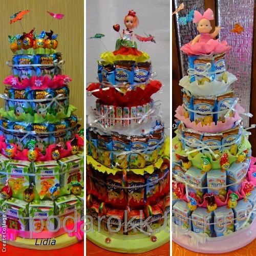 Торт на детский день рождения в домашних условиях 2