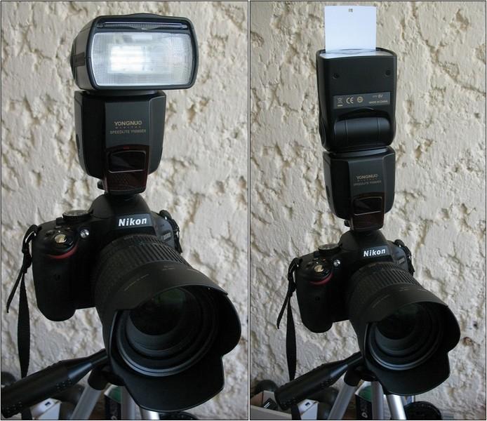 есть съемки с внешней фотовспышкой канале фотогора