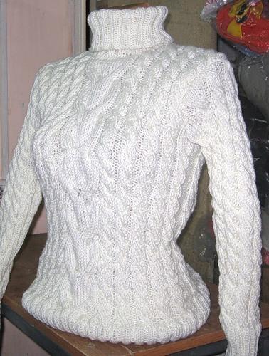 белые свитера женские фото