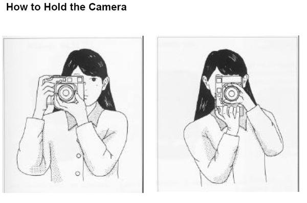 найдёте как правильно держать фотоаппарат при съемке квесты помогут вам