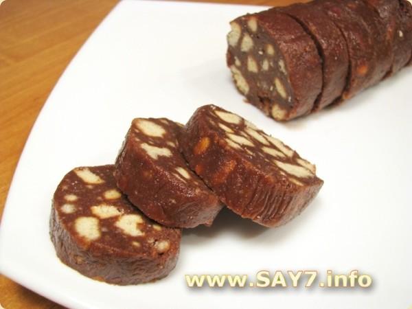 Сливочная колбаска рецепт фото