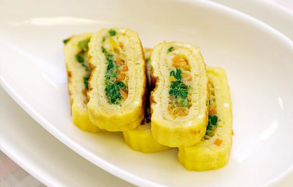 Яичные роллы по корейски рецепт с фото