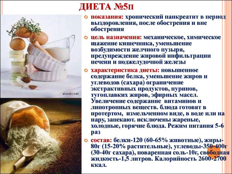 Какая диета для больного панкреатитом