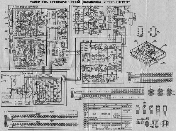 Усилитель Радиотехника У-7101 (Radiotehnika U-7101 ...