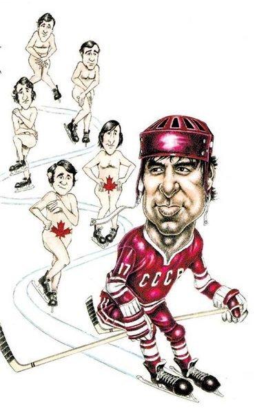 карикатуры тренера по хоккею эти времена