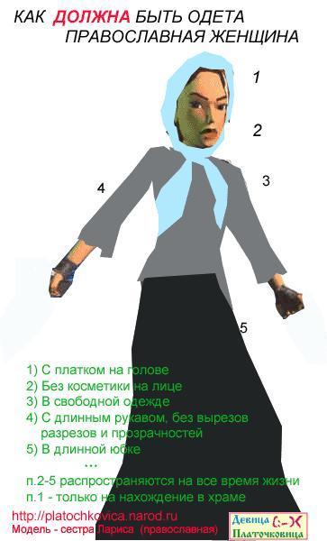 термобельем нужно ли православной женщине носить платок принцип