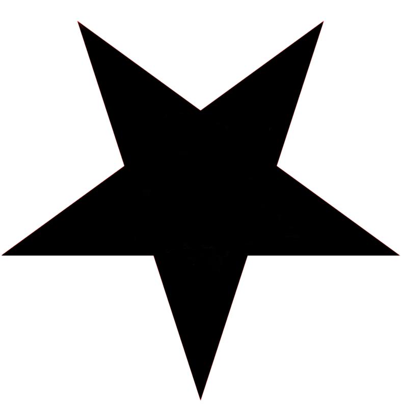 звезды картинки силуэты японского