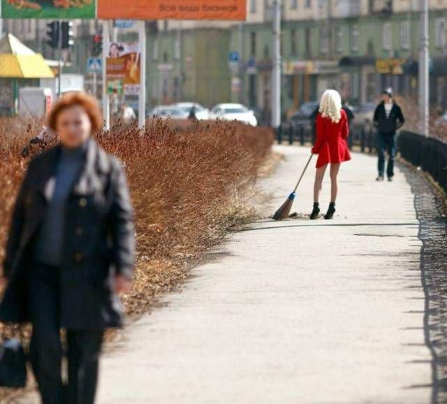время 5 утра дворник метет улицу анекдот правило, такое белье