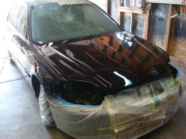 Покраска авто в своём гараже