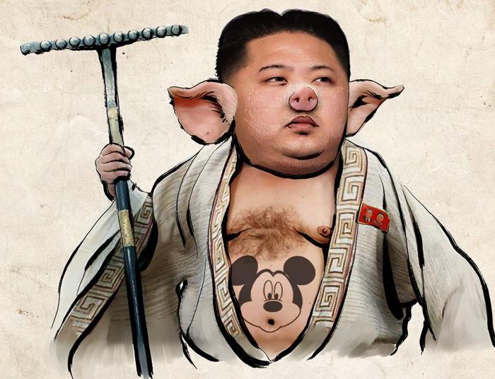 Корейские картинки смешные