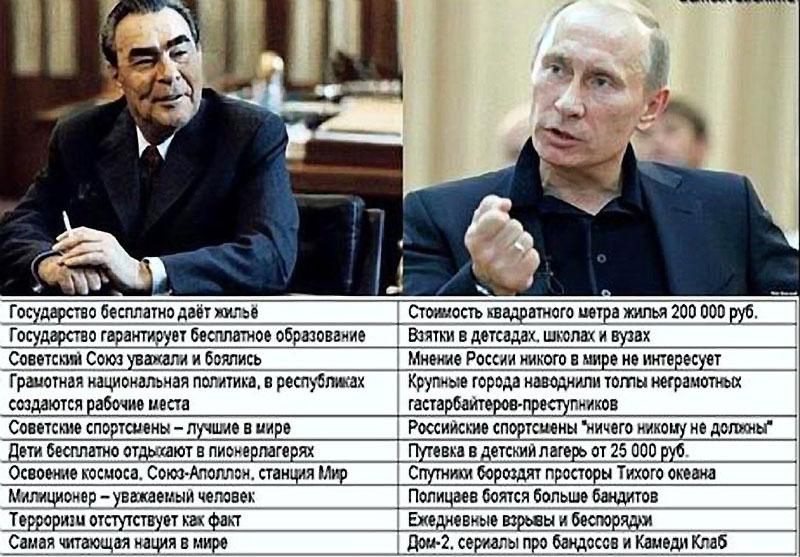 В россии плохие люди