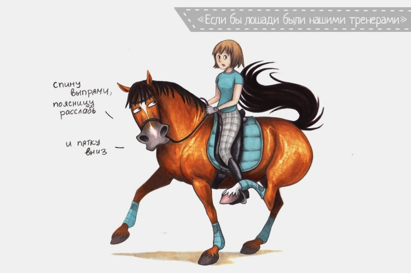 Открытка с прикольной лошадью, открытки днем рождения