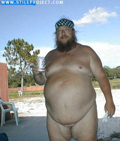 Мужской член у толстого