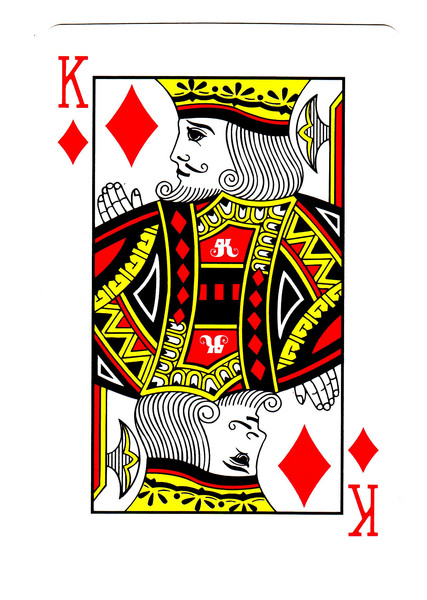 Картинки игральных карт для распечатки по одной