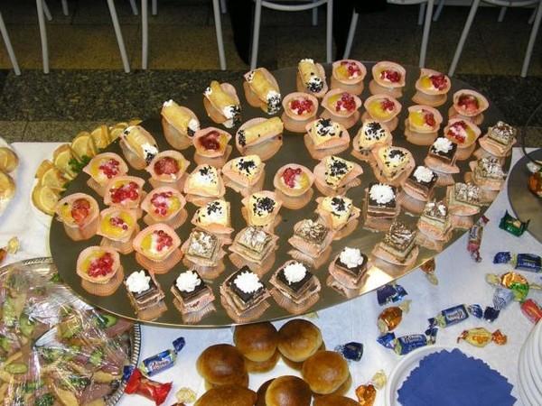 Маленькие пирожные для фуршета рецепты с фото