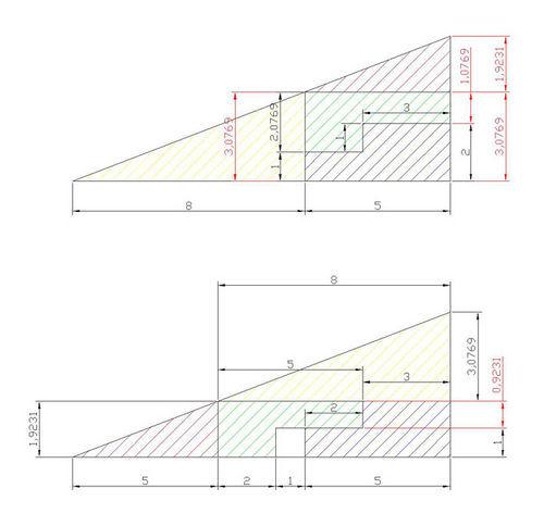 Площадь треугольника откуда взялась эта дырка