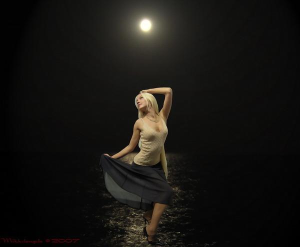 Эротика Лунный Свет