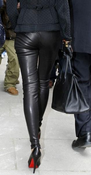 Девушек в кожаных штанах фото фото 649-134