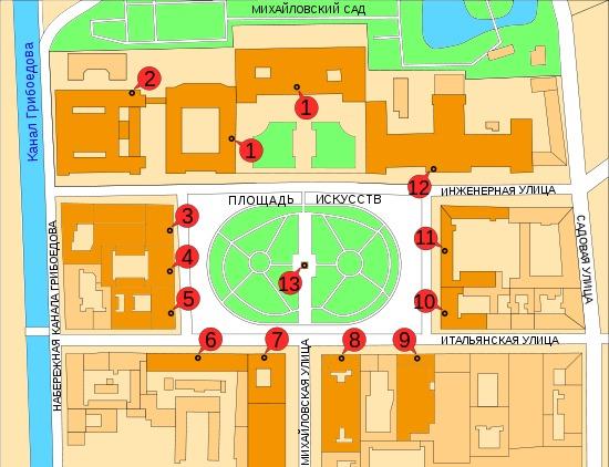 А Невский проспект станция