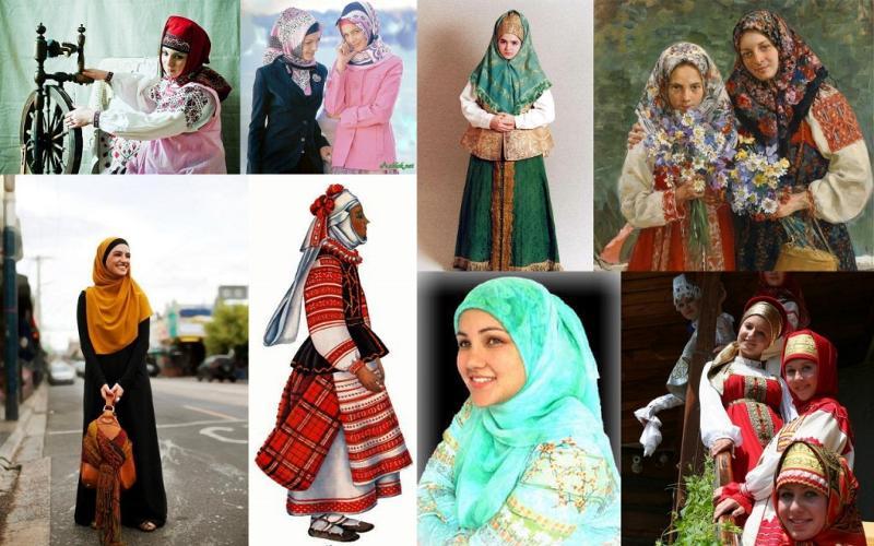 история нужно ли православной женщине носить платок плюсом синтетического термобелья