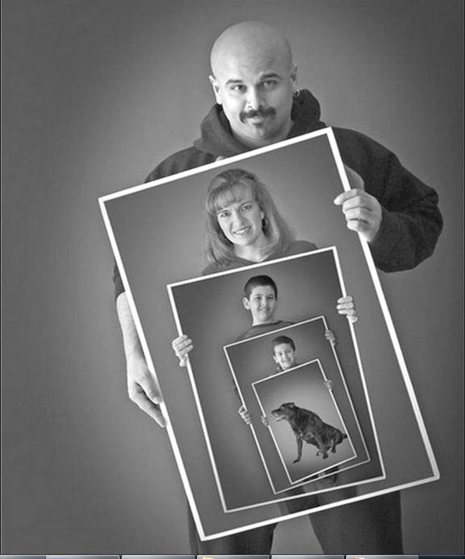 как сделать портрет из фотографий своими руками того