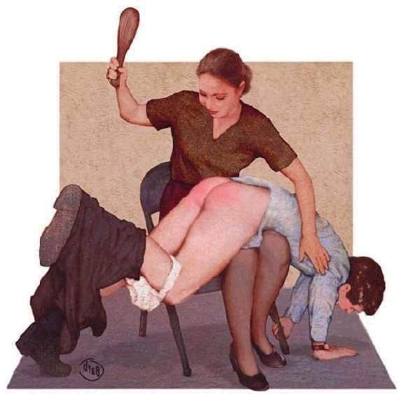 фото жена наказывает мужа розгами