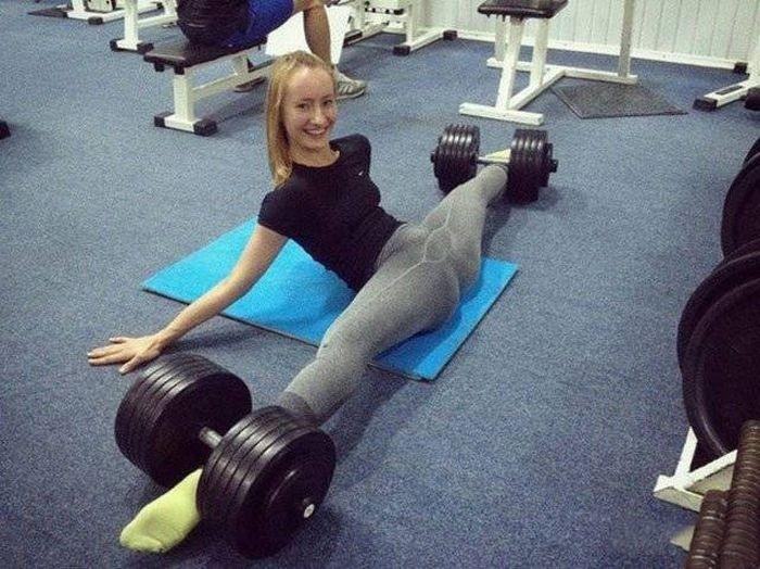 в чем ходить в спортзал девушке фото