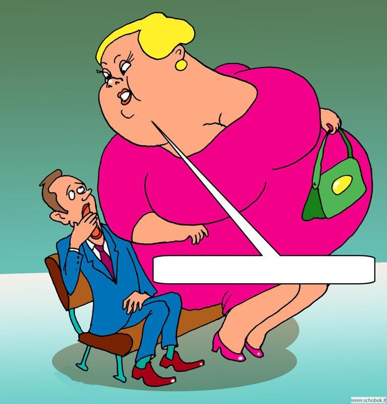 Картинки карикатуры на женщин
