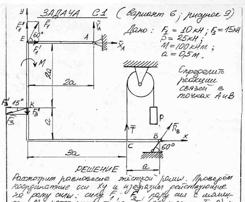 Решебник С.м. Тарга 1989 Г. Задача С1 Вариант 97