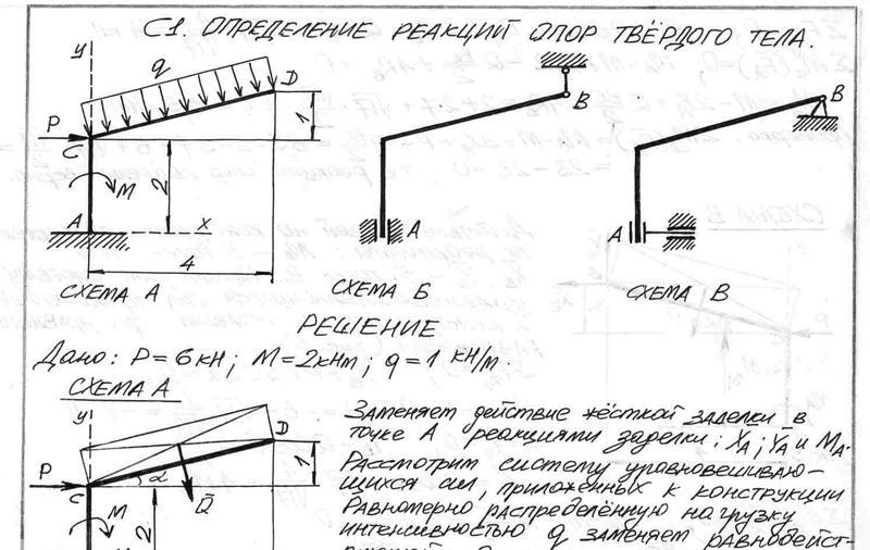 Решебник учебник яблонского по теоретической механике