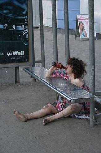 Баба пьяная чужая 0 фотография