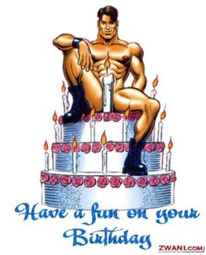 С днем рождения про секс зашел