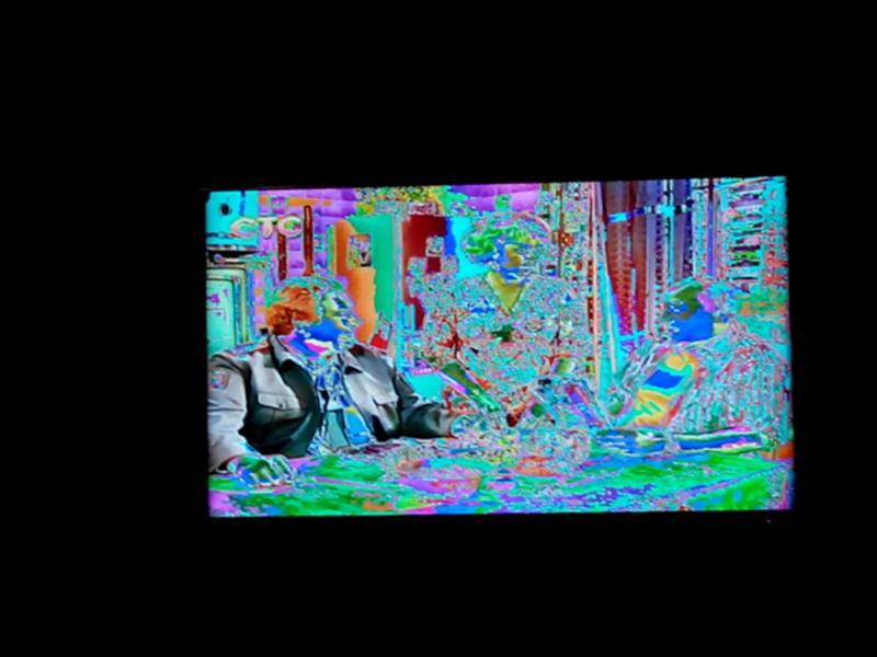 Телевизор искажение картинки