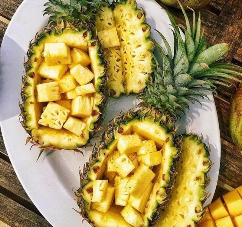 таких необычных, оформление ананаса к праздничному столу фото фото пандой