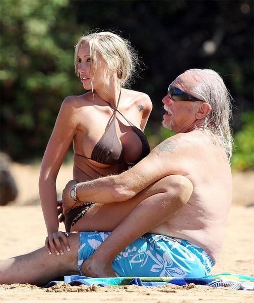 Порно на пляже