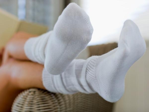 Ножки в носочках фото 129-856
