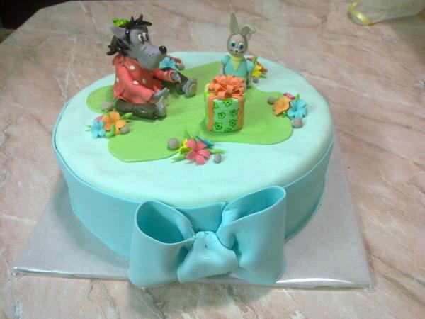детский торт ну погоди фото