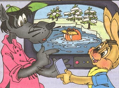 Ну погоди картинки волк с крокодилами