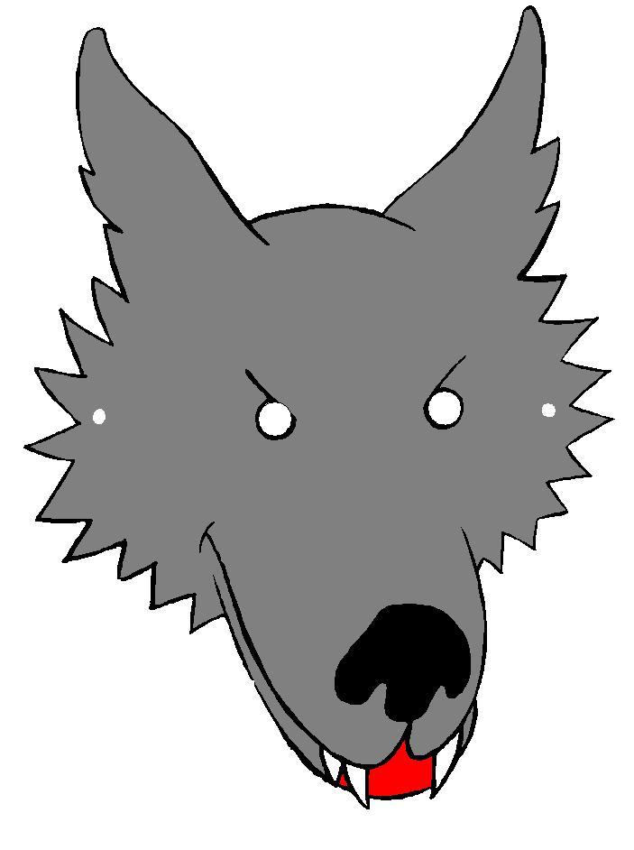 Волк из ткани своими руками