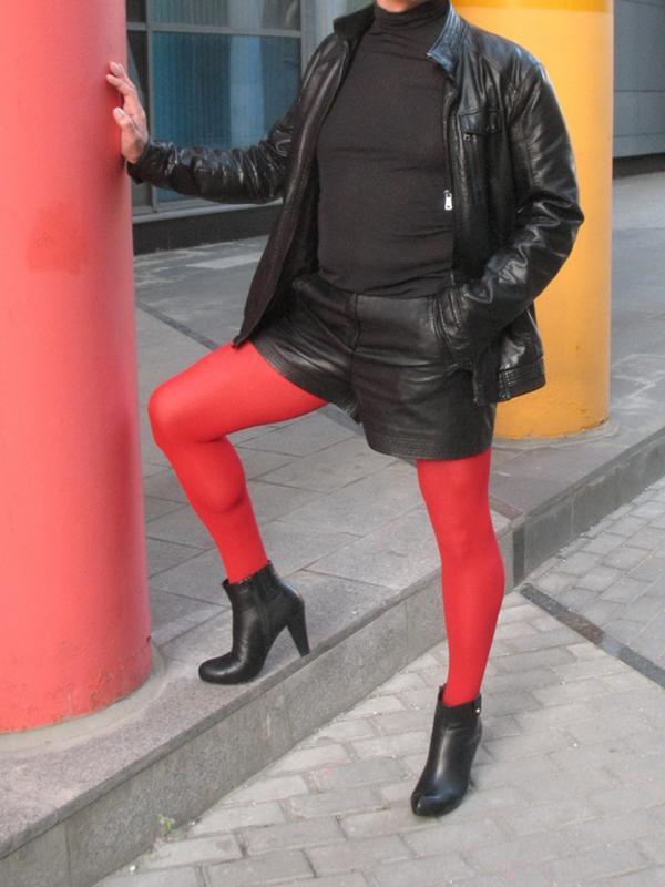 Мужик в красных колготках — pic 7