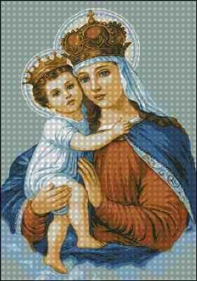 Схемы вышивок католических икон